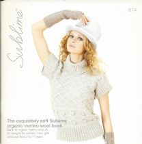 614 - The exquisitely soft Sublime organic merino wool book